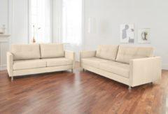 Alte Gerberei 2-Sitzer Sofa »Vincent« mit Steppung, inklusive Rückenkissen