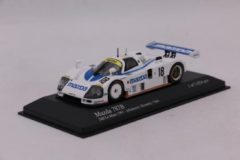 Blauwe Mazda 787B #18 24H Le Mans 1991 - 1:43 - Minichamps