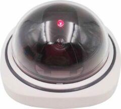 WiseGoods - Dummy Beveiligingscamera Met Bewegingssensor - Nep Camera - Rood Knipperend LED Lampje - Dummy Camera Met Motion Detector