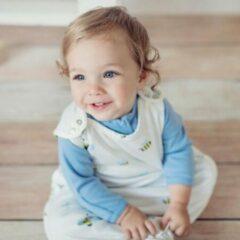 Gele SuperLove Merino Baby Sleeping Bag - All Season - Bumble 0-24 mnd