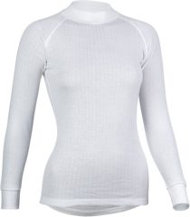 Witte Avento Thermoshirt Lange Mouw Dames Wit Maat L
