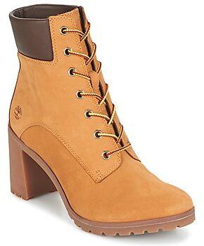 Afbeelding van Bruine Boots en enkellaarsjes Allington 6in Lace Up by Timberland