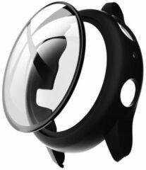 IMoshion Hardcase + Screenprotector voor de Samsung Galaxy Watch Active 2 - 44 mm - Zwart