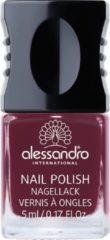 Donkerrode Alessandro Nail Polish - Berrylicious