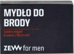 Zew For Men Call For Men - Beard Soap Contains Charcoal From Bieszczady 85Ml