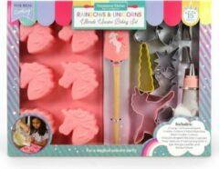 Roze Handstand Kitchen Eenhoorn Party Bak Set