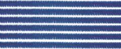 20x chenilledraad blauw 50 cm hobby artikelen - knutselen