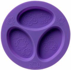 Paarse Oogaa Siliconen 3 Vaks Bord - Purple