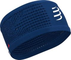 Compressport Headband On/Off - Blauw / Wit - maat One size