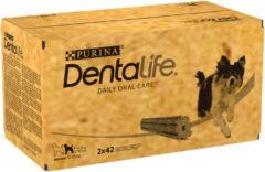 DentaLife Kauwstaaf Voordeelverpakking Medium 12 - 25 kg 84 stuks