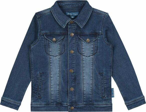 Afbeelding van Blauwe Smitten Organic - Denim Jacket - Bleached Blue