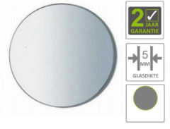 Boss & Wessing BWS Spiegel Universal 30 cm Rond 5mm Aluminium