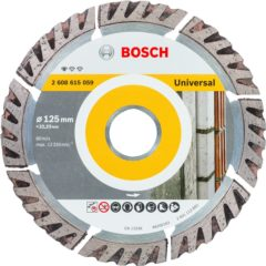 Diamantslijpschijf Standard for Universal, 125 x 22,23 x 2 x 10 mm Bosch Accessories 2608615059 Diameter 125 mm 1 stuks