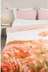 Roze Ambiante Lea Dekbedovertrek - Lits-jumeaux (240x200/220 Cm + 2 Slopen) - Microvezel - Coral
