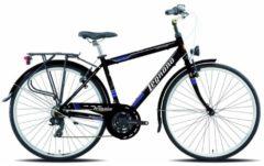 28 Zoll Legnano Forte dei Marmi Herren Trekking Fahrrad Aluminium 21-Gang Legnano schwarz-blau