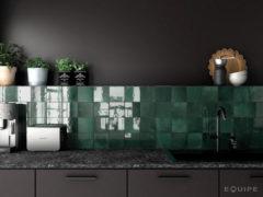 SaniGoods Wandtegel Artisan Moss groen 13,2x13,2