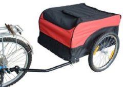 HOMCOM Transportanhänger fürs Fahrrad