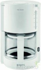 Krups Pro Aroma F30901 - Koffiezetapparaat - Wit