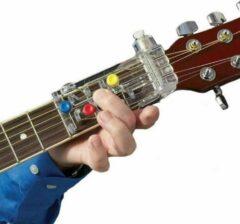 Transparante WiseGoods - Gitaar leren Spelen - Klassieke Gitaar Chordbuddy - Teaching Aid Gitar - Gitaarleraar - Gitaar accessoires - Gitaarles
