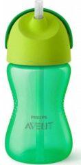 Groene Philips Avent Avent drinkbeker met rietje - 300ml