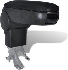 Zwarte VidaXL - Aluminiumtape Armsteun voor VW Golf 4, Bora, New Beetle 150002