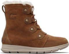 Bruine Sorel Sorel Explorer Joan Snowboots Dames - Camel Brown. Ancient Fossil - Maat 39