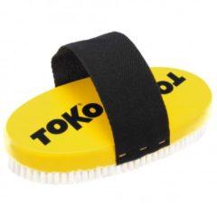 Toko - Base Brush Oval Nylon - Borstel geel