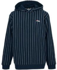 Blauwe Sweater Fila Troya AOP Hoody Kids