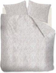 Ambiante Erin flanel dekbedovertrek - 1-persoons (140x200/220 cm + 1 sloop) - Flanel - Naturel