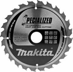 Makita Accessoires Cirkelzaagblad TipE 190x30x2.0 24T 23g