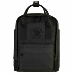Zwarte Fjällräven - Re-Kånken Mini - Dagbepakking maat 7 l zwart