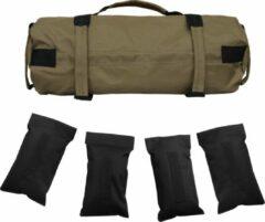 Kaki Merkloos / Sans marque Fitness sandbag tot 15 kg - powerbag - weight bag - fitness gewicht
