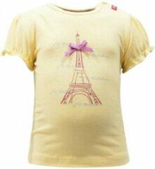 Beebielove Babykleding Gele Meisjes Tshirt Eifeltoren - 74