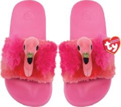 Ty Fashion - Slipper Gilda Flamingo - maat 36-38