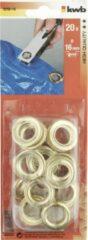 KWB Zeilringen 16 mm Messing (20)