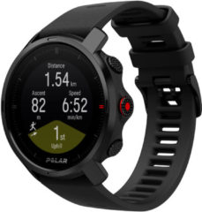 Zwarte Polar Grit X Multisport GPS Watch - Horloges