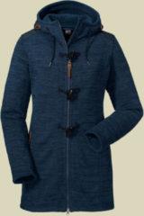 Schöffel Fleece Coat Lauca1 Women Damen Fleecemantel Größe 42 navy blazer