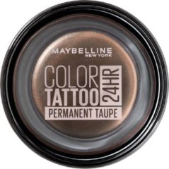 Bruine Maybelline New York Eye Studio Color Tattoo - 40 Permanent Taupe - oogschaduw