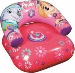Nickelodeon Paw Patrol opblaasbare stoel roze 63 cm