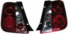 AutoStyle Set Achterlichten passend voor Fiat 500 2007- - Rood/Helder