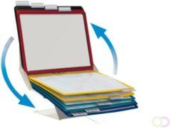Durable Standaard voor bureaustandaard VARIO® PRO 10 - 5579 Zwart, Rood, Geel, Groen, Donkerblauw DIN A4 Aantal meegeleverde displaypanels 10
