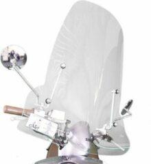Witte DMP Sym Mio Hoog Windscherm inclusief bevestigingsset van scootercentrum