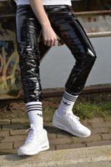 Zwarte PVC broek Mr Riegillio maat 28
