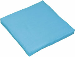 Gebor Stoelzitting – Kussen voor in de Tuinstoel – Tuinkussen – Comfortabel – Blauw – 40x40x5 cm