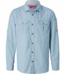 Craghoppers - Nosilife Adventure L/S Shirt - Overhemd maat XL, grijs