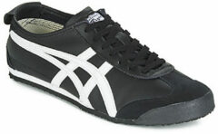 Witte Onitsuka Tiger Mexico 66 DL408-9001, Unisex, Zwart, Sneakers maat: 43,5 EU