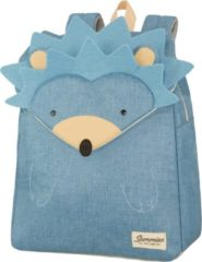 Blauwe Sammies by Samsonite Happy Sammies Backpack S Plus hedgehog harris Kindertas