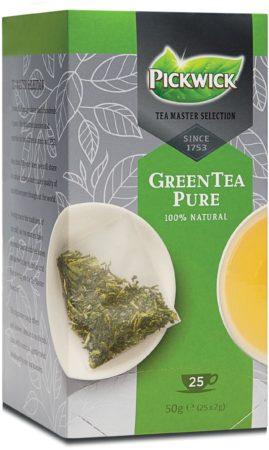 Afbeelding van Groene Thee Pickwick master selection groen pure 25 zakjes van 2gr