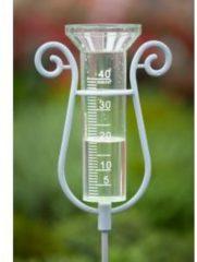 Transparante Regenmeter incl. koppelbare aluminium steel 110cm-40ml Nature