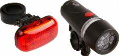 Ventura Verlichtingsset Led Batterijen Zwart